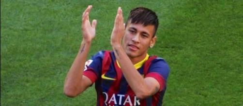 La superstar brasilera Neymar