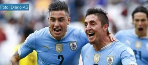 Uruguay le ganó uno por cero a Jamaica