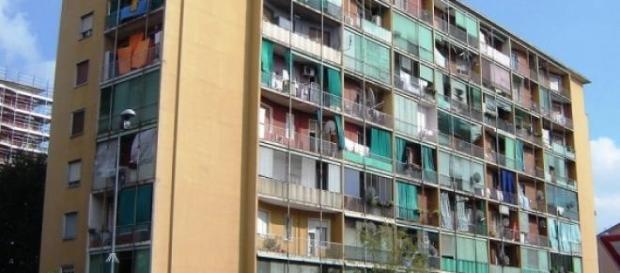 Case popolari per cittadini non abbienti.
