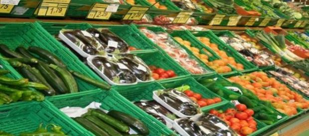 productos en el supermercado