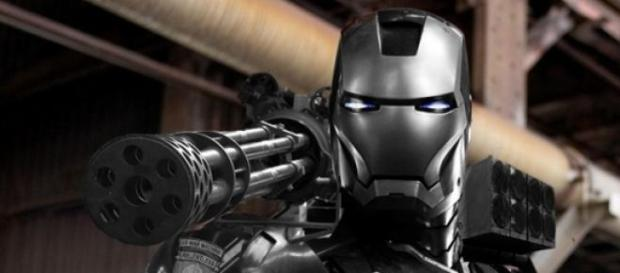 War Machine con su nueva armadura