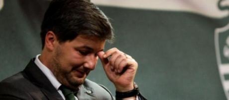 Bruno de Carvalho ficou revoltado com arbitragens.