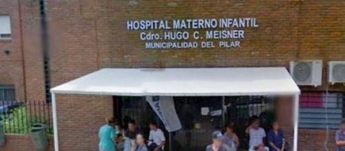 La bebé llegó al hospital casi sin vida