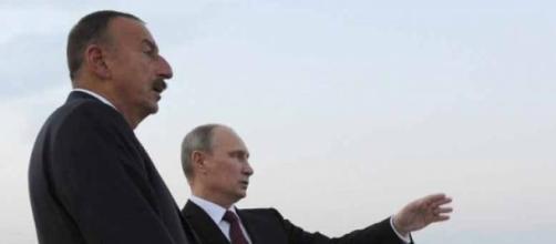 Les présidents Azeri et Russe - Archive