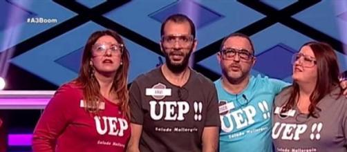Los concursantes del equipo UEP!