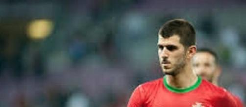 Nélson Oliveira, jogador formado no Benfica