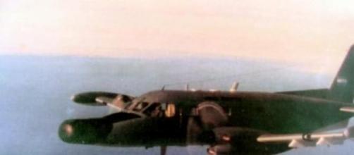 """""""Bandeirulha"""", avião brasileiro nas Malvinas"""