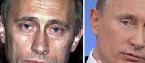 Vladimir Putin antes y ahora