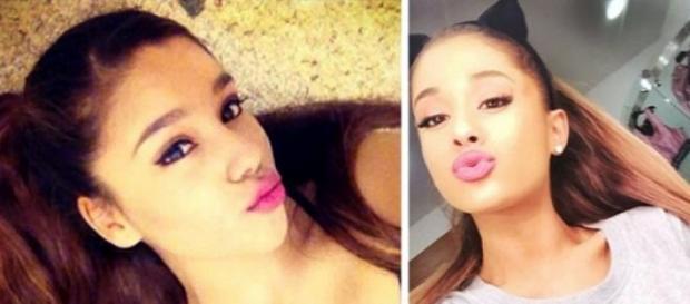 A Ariana Grande le hacen la competencia