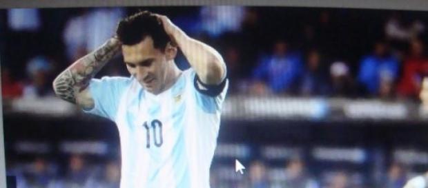 Empate y lamento del capitán argentino