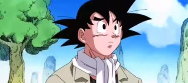 Goku en el OVA del 2008 idéntico al del avance