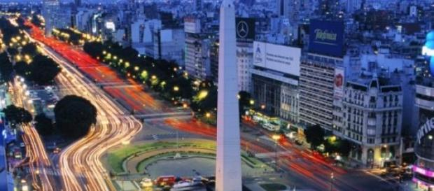 Panorámica de la bella Buenos Aires