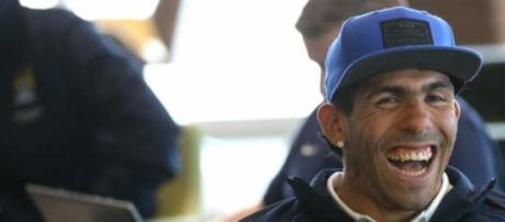 Carlos Tevez ai tempi del Manchester City
