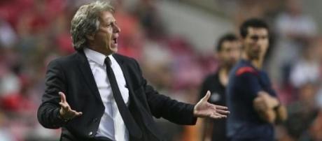 Jorge Jesus, actual treinador do Sporting.