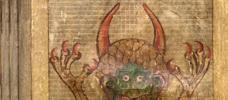 La ilustración de Lucifer presente en esta obra