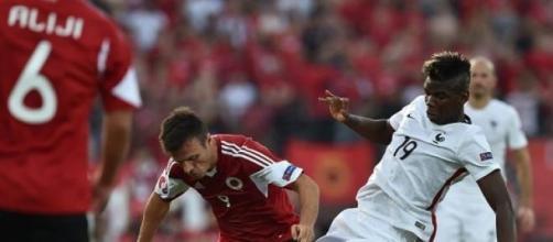 Défaite de l'Equipe de France contre l'Albanie 1-0