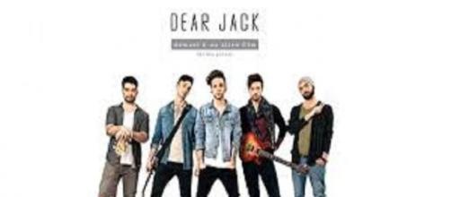 Il giovane gruppo musicale pop dei Dear Jack.