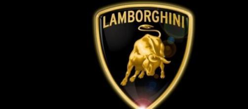 Il logo dell'azienda Lamborghini