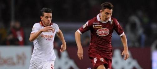 Matteo Darmian con la maglia del Torino