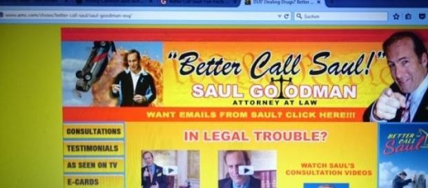 """""""Better Call Saul""""-Homepage gibt es wirklich"""
