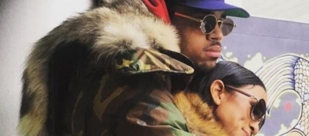 Chris Brown und Karrueche Tran in guten Zeiten.