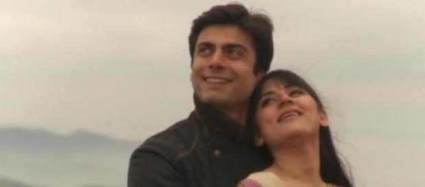 Fawad Khan and Sanam Baloch in Akbari Ashghari