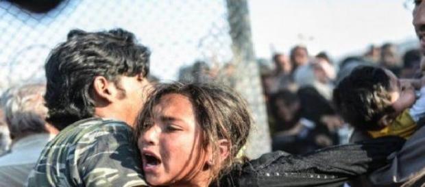 Iadul de la granița Siriei cu Turcia