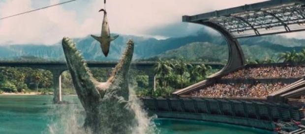 Jurassic World grossed $512 million
