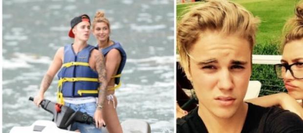 Justin Bieber e Hailey Baldwin em Miami