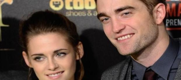 Kristen Stewart et Robert Pattinson en 2008.