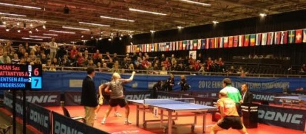 Ouro para Portugal no ténis de mesa por pares.