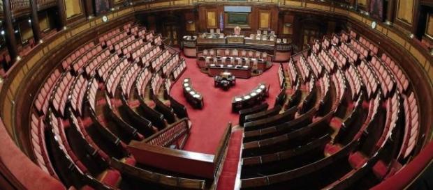 Panoramica del Senato della Repubblica