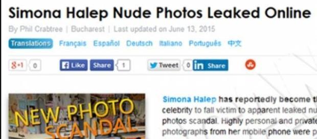 Pozele trucate cu Simona au aparut în America