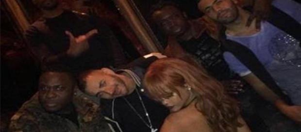 Rihanna y Benzema bailando en NY
