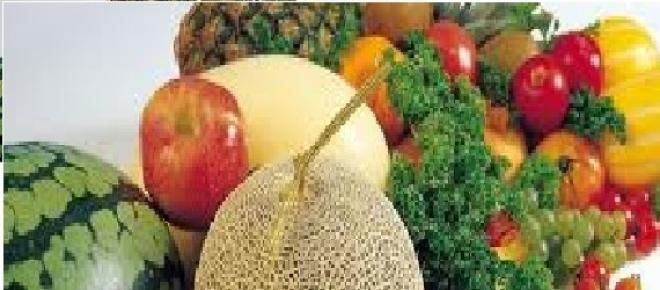 Alimentazione: Frutta e verdura