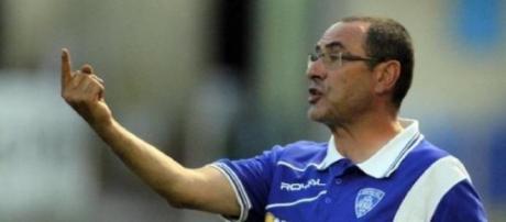 Maurizio Sarri, nuovo allenatore del Napoli