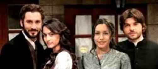 Alcuni personaggi della soap opera Il Segreto.