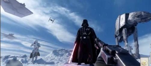 Dark Vador apparaît dans Star Wars : Battlefront.