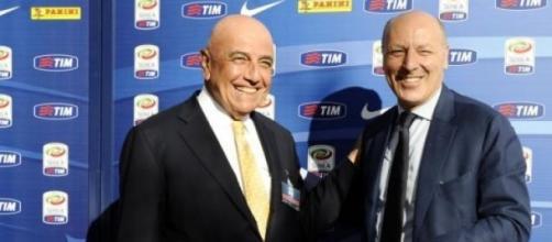 Galliani e Marotta si sfidano sul mercato