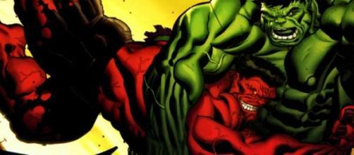 Hulk podría enfrentarse a Red Hulk en 'Civil War'.