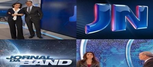 JN e Jornal da Band fazem reportagens iguais.