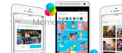 La app Momentos comparte fotos en forma privada