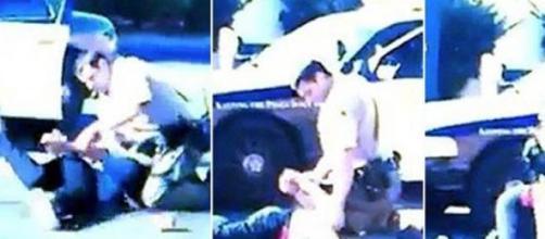 Secuencia extraida del vídeo de la agresión