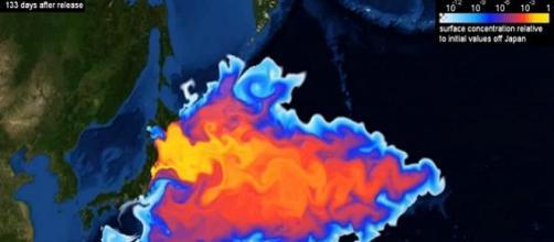 Simulación sobre la dispersión de la contaminación