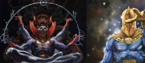 Titanes comiqueros, Dr. Strange y Dr. Fate