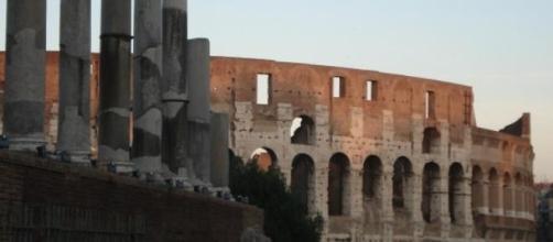 veduta di Roma, zona Colosseo