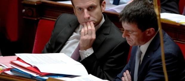 49-3 Emmanuel Macron et Manuel Valls
