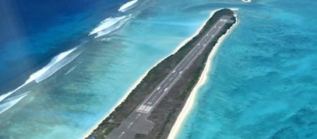 Aeroporto di Agatti, India un lembo di terra