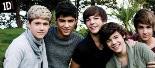 El quinteto One Direction
