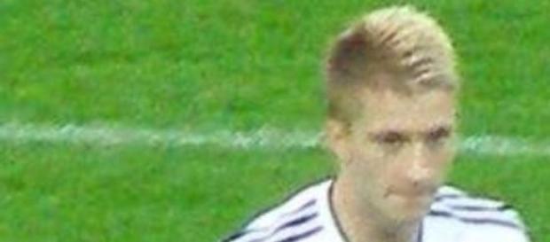 Marco Reus con la Selección Alemana